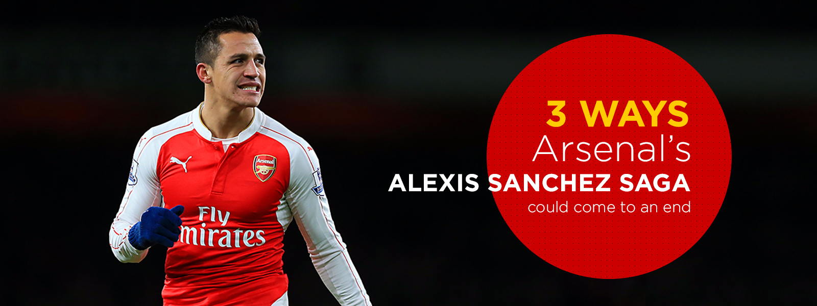 3 ways Arsenal's Alexis Sanchez saga could come to an end