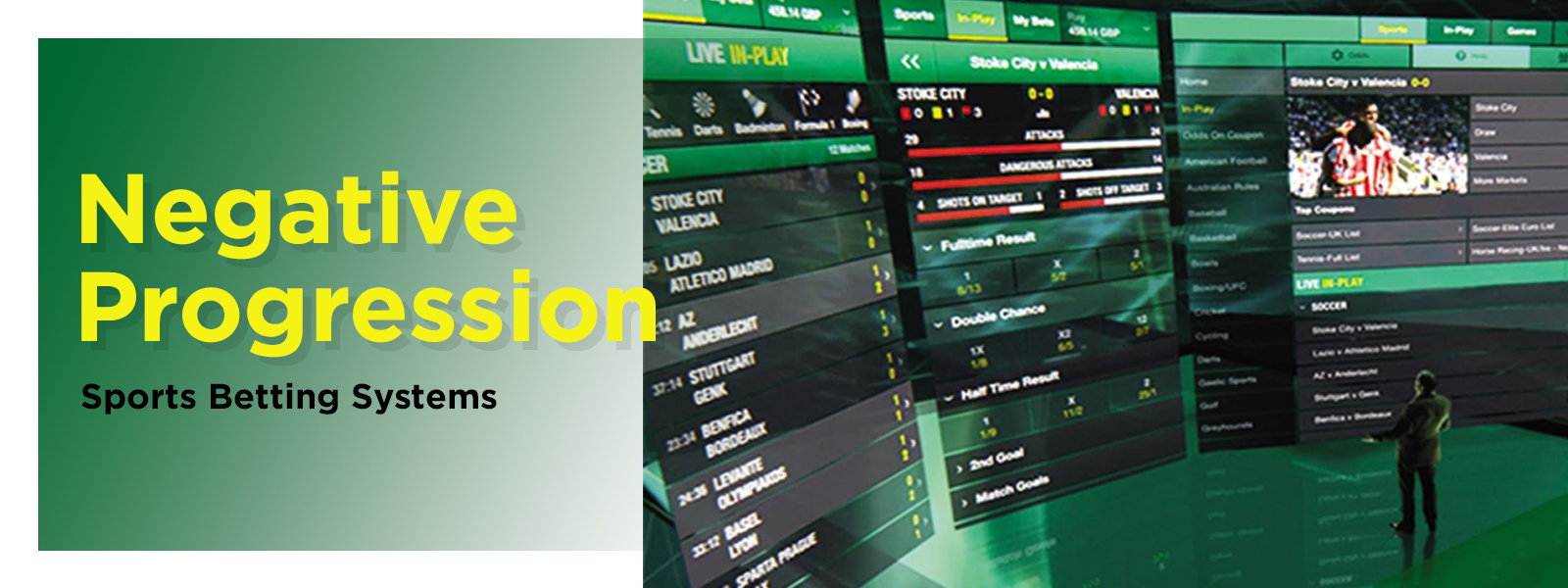 Negative Progression Sports Betting Systems