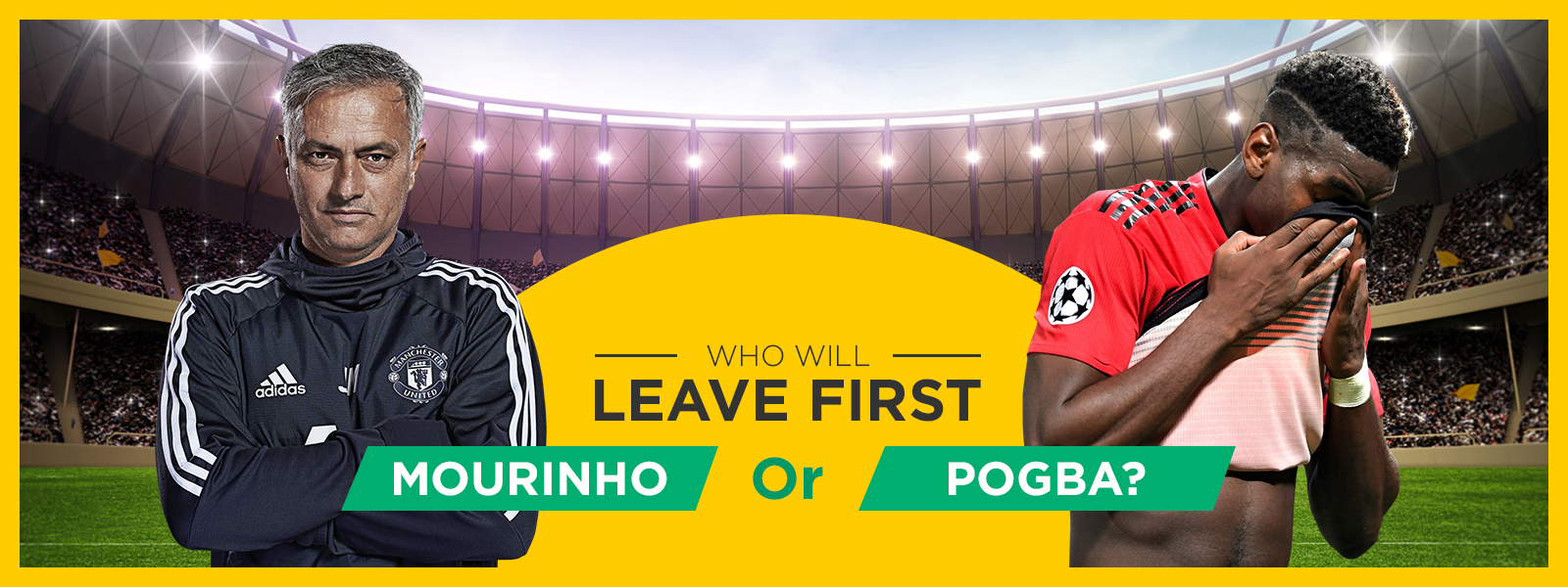 Who Will Leave Manchester United First: Mourinho Or Pogba?